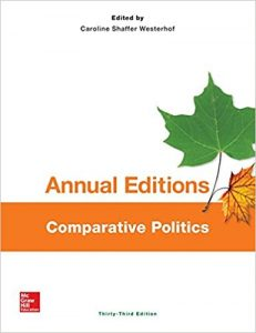 Annual editions - comparative politics