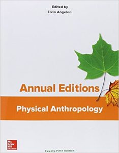 Annual editions - physical anthropology