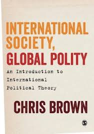 International society, global polity